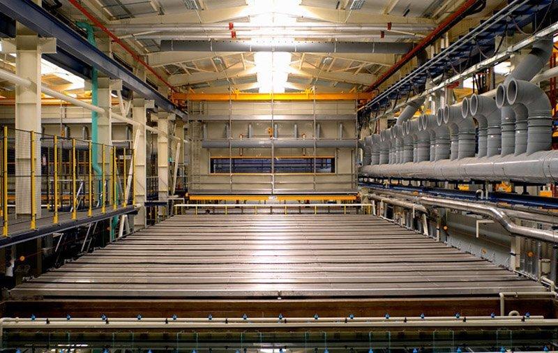 aluminum anodizing line